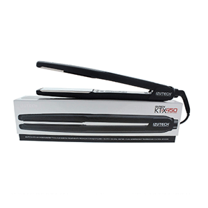 Izutech Ktx 450 Titanium Digital Flat Iron, Black